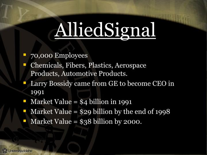 AlliedSignal