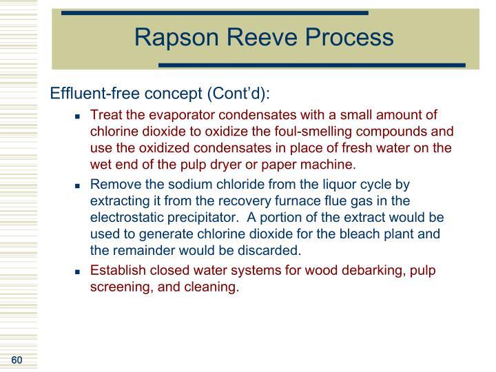 Rapson Reeve Process