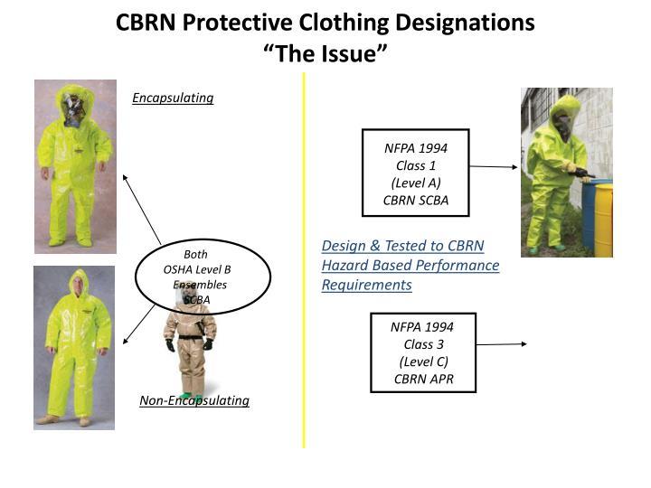 CBRN Protective Clothing Designations