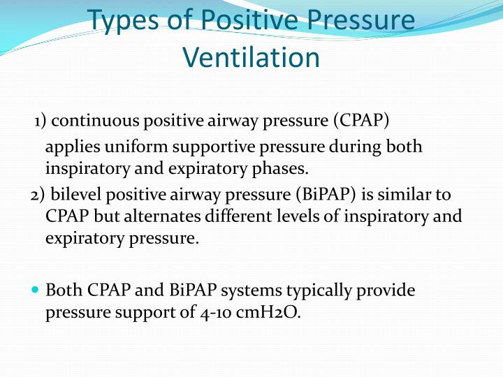 Types Of Ventilation Systems : Ppt pre hospital cpap what ems should know powerpoint