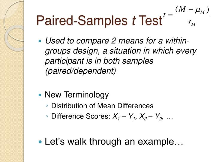 Paired-Samples