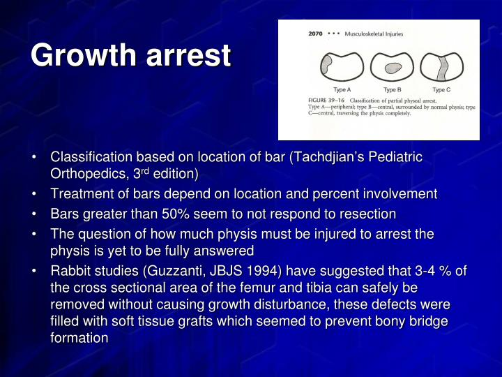 Growth arrest