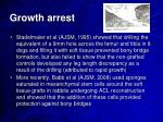 growth arrest1