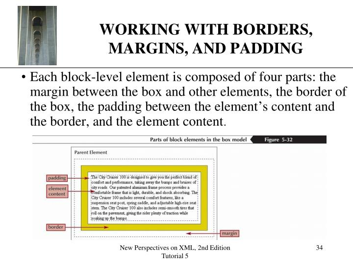 WORKING WITH BORDERS, MARGINS, AND PADDING