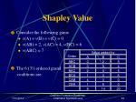 shapley value83