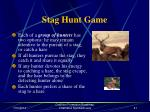 stag hunt game