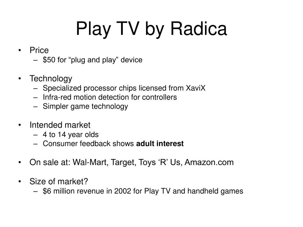 Play TV by Radica