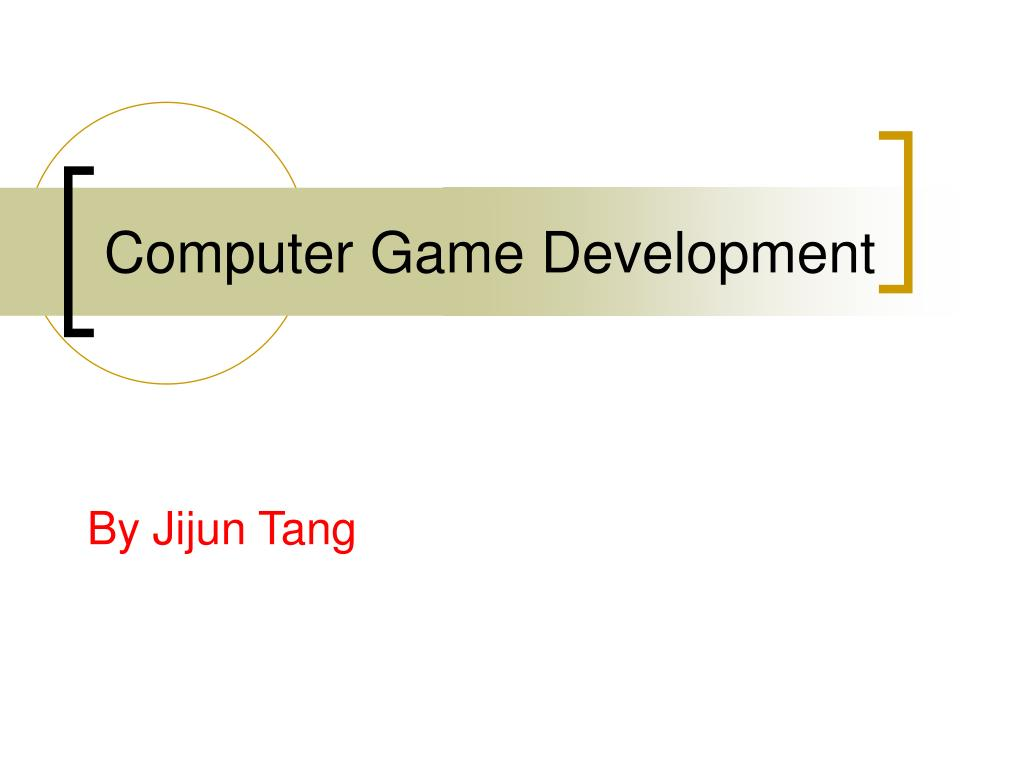 computer game development l.