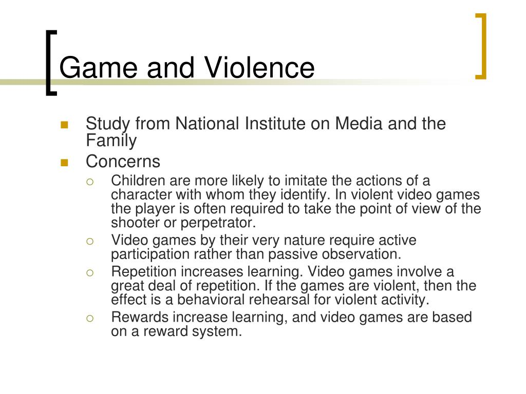 Game and Violence