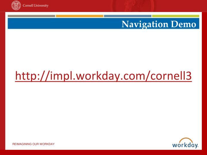 Navigation Demo