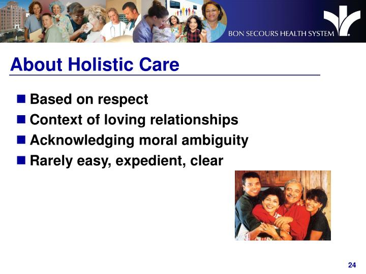 About Holistic Care