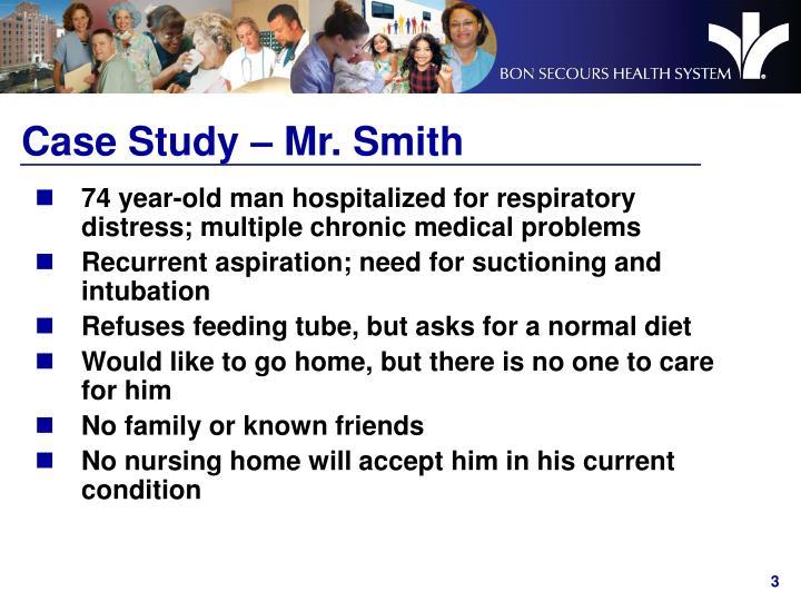 Case study mr smith