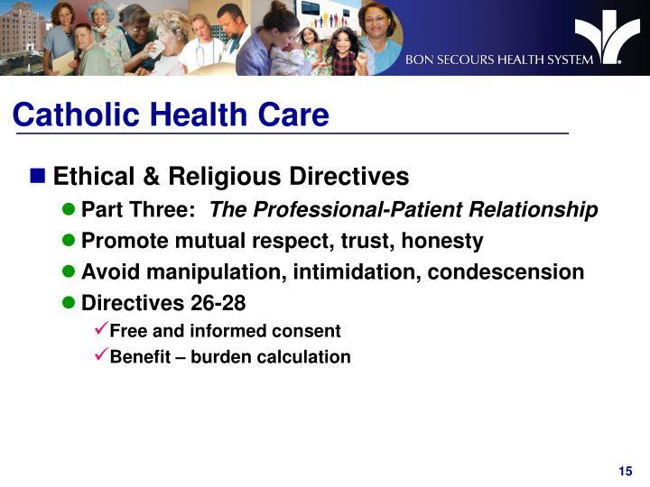 Catholic Health Care