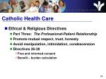 catholic health care1