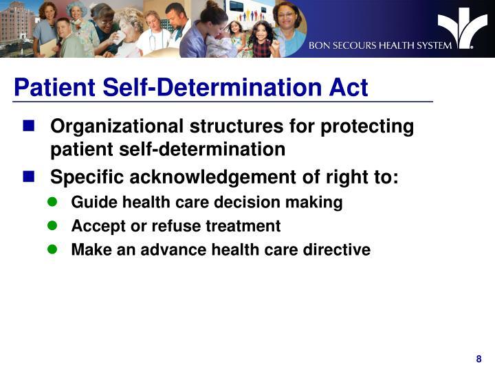 Patient Self-Determination Act