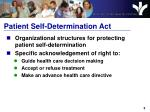 patient self determination act