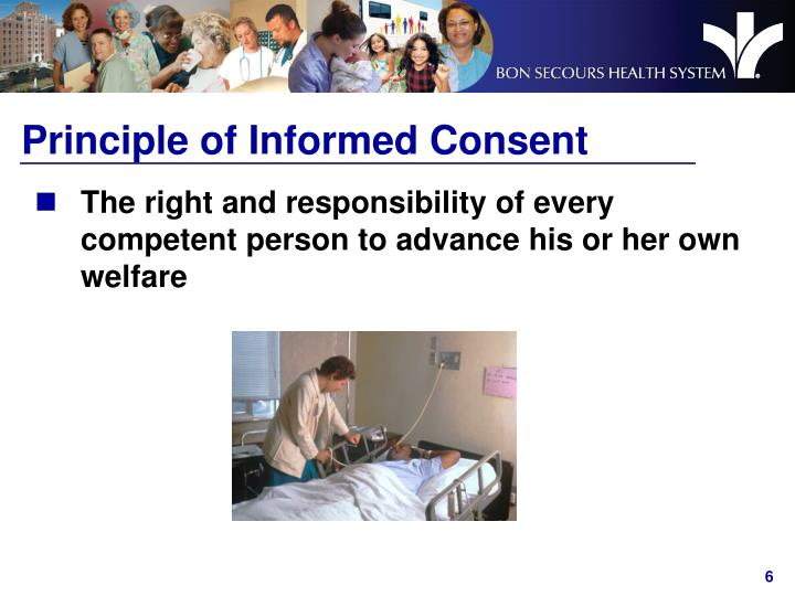Principle of Informed Consent