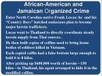 african american and jamaican or ganized crime4