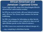 african american and jamaican or ganized crime6