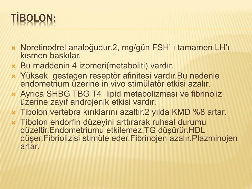 PPT - HORMON REPLASMAN TEDAViSİNE GÜNCEL YAKLAŞIMLAR PowerPoint  Presentation - ID:1421228