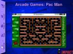 arcade games pac man