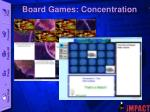 board games concentration