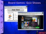 board games quiz shows