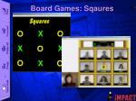 board games sqaures