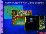games created with game engines