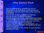 why games work