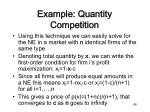 example quantity competition5