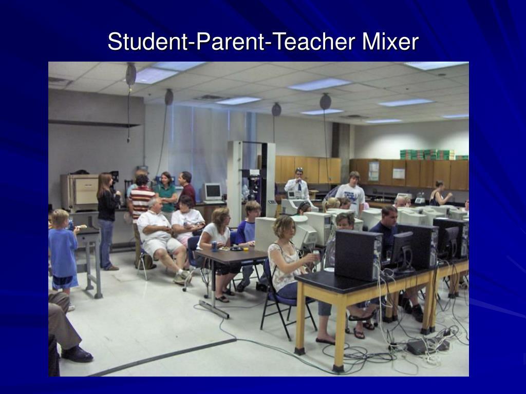Student-Parent-Teacher Mixer