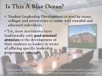is this a blue ocean
