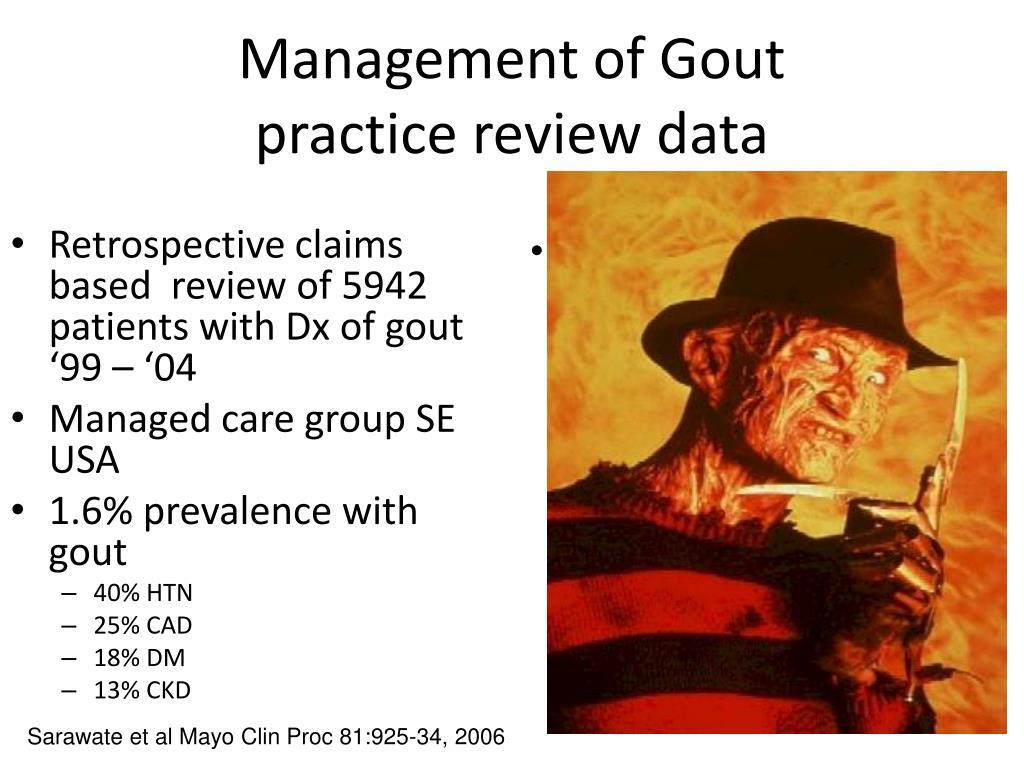 Management of Gout