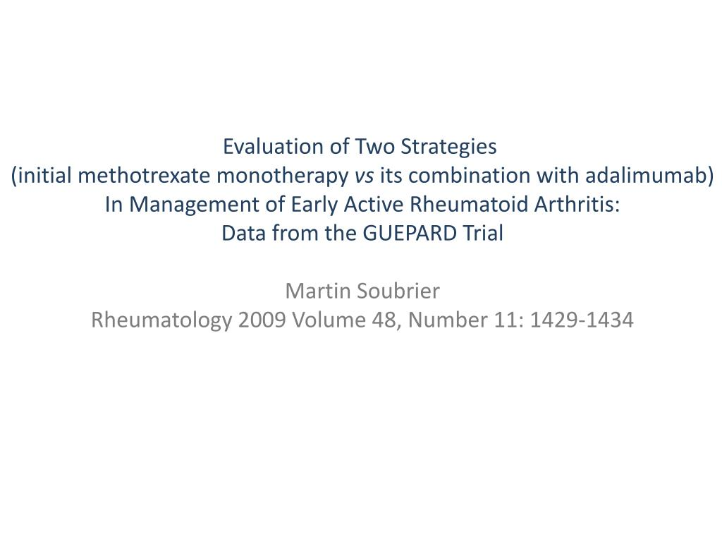 Evaluation of Two Strategies