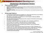 3 impact on student development14