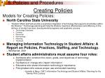 5 policies and procedures23