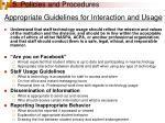 5 policies and procedures24