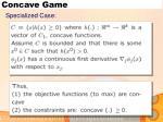concave game2