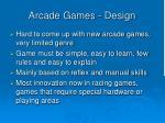 arcade games design1