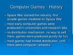 computer games history1