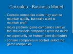 consoles business model2