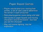 paper based games1