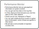 performance monitor