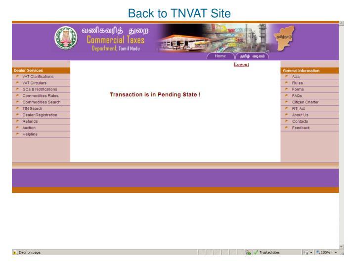 Back to TNVAT Site