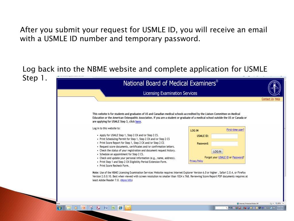 PPT - USMLE Step 1 PowerPoint Presentation - ID:1422157