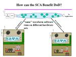 how can the sca benefit dod