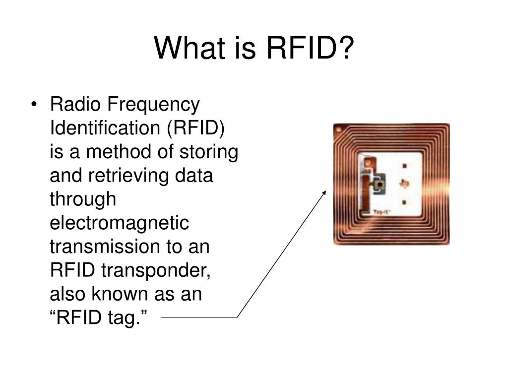 PPT - RFID Technology PowerPoint Presentation - ID:1422464