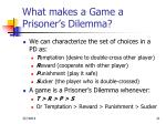what makes a game a prisoner s dilemma