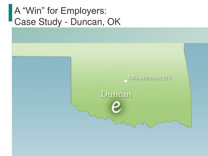 "A ""Win"" for Employers:"